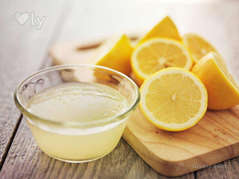 Lemon Juice Skin Lightener