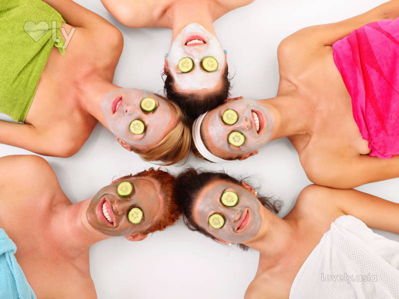 Make Your Next Party a Home Spa Party
