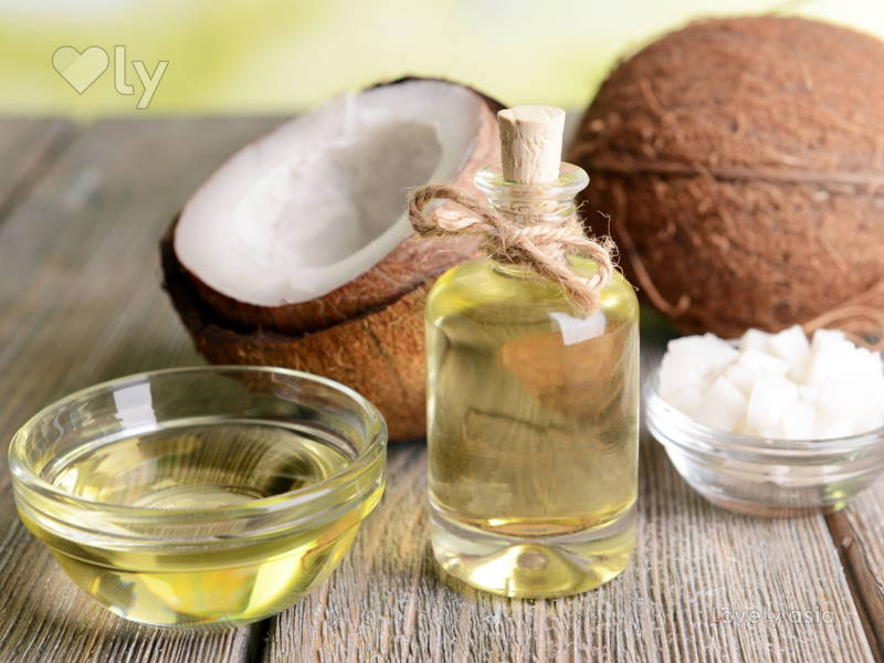 Coconut Oil Lightening Agent