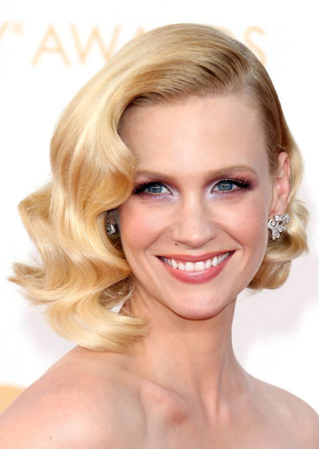 old hollywood waves january jones