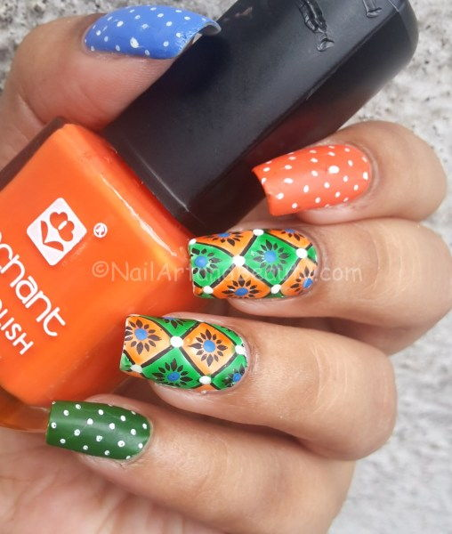 India independence day nails