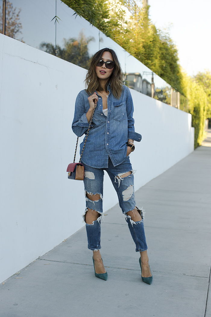 aimee song jeans