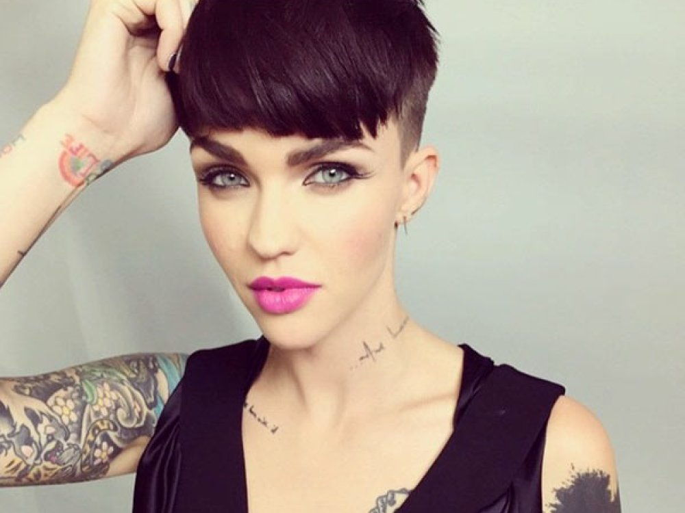 ruby rose pixie cut