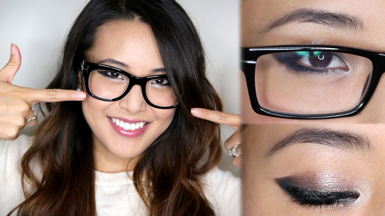 eye makeup spectacles