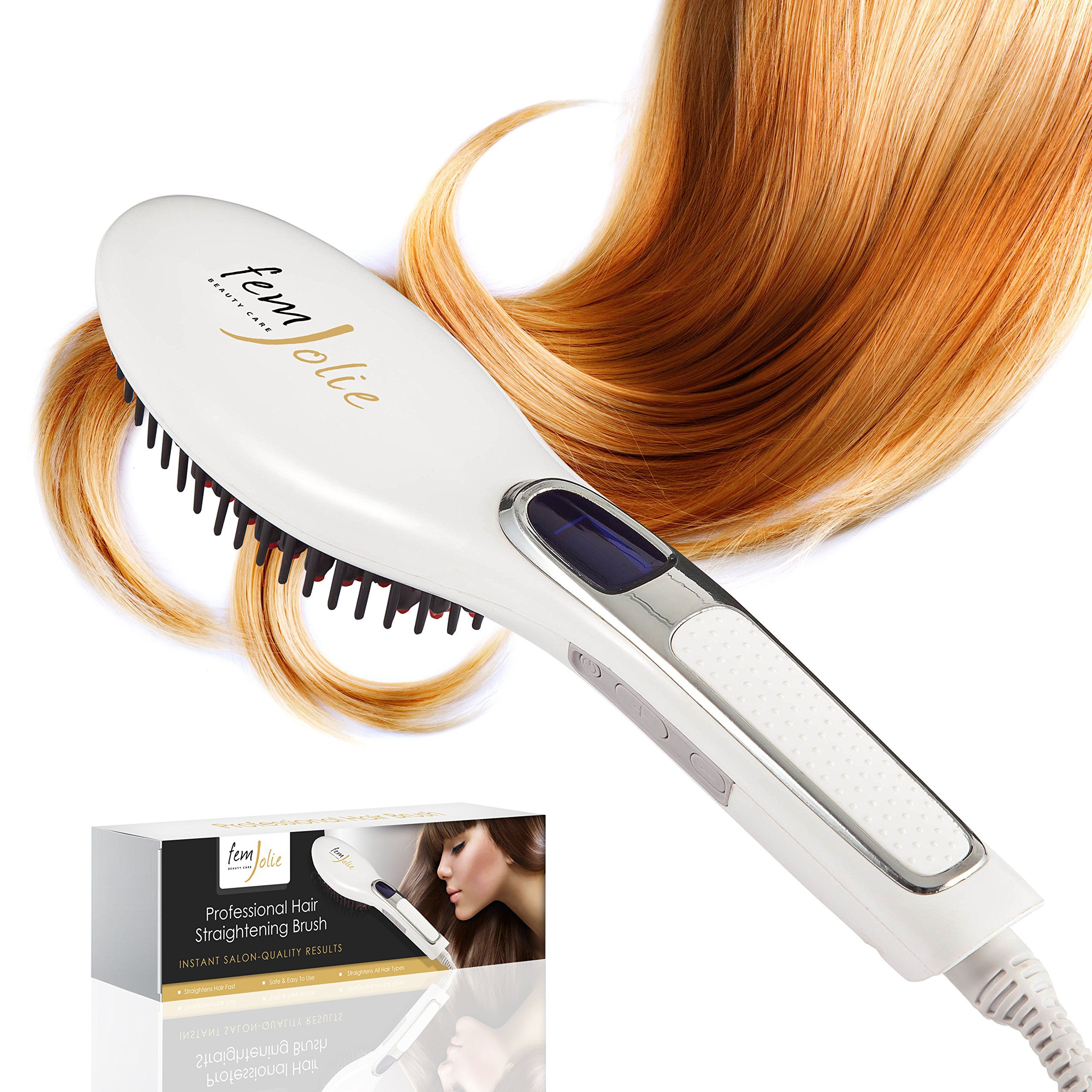 Femjolie straightening brush