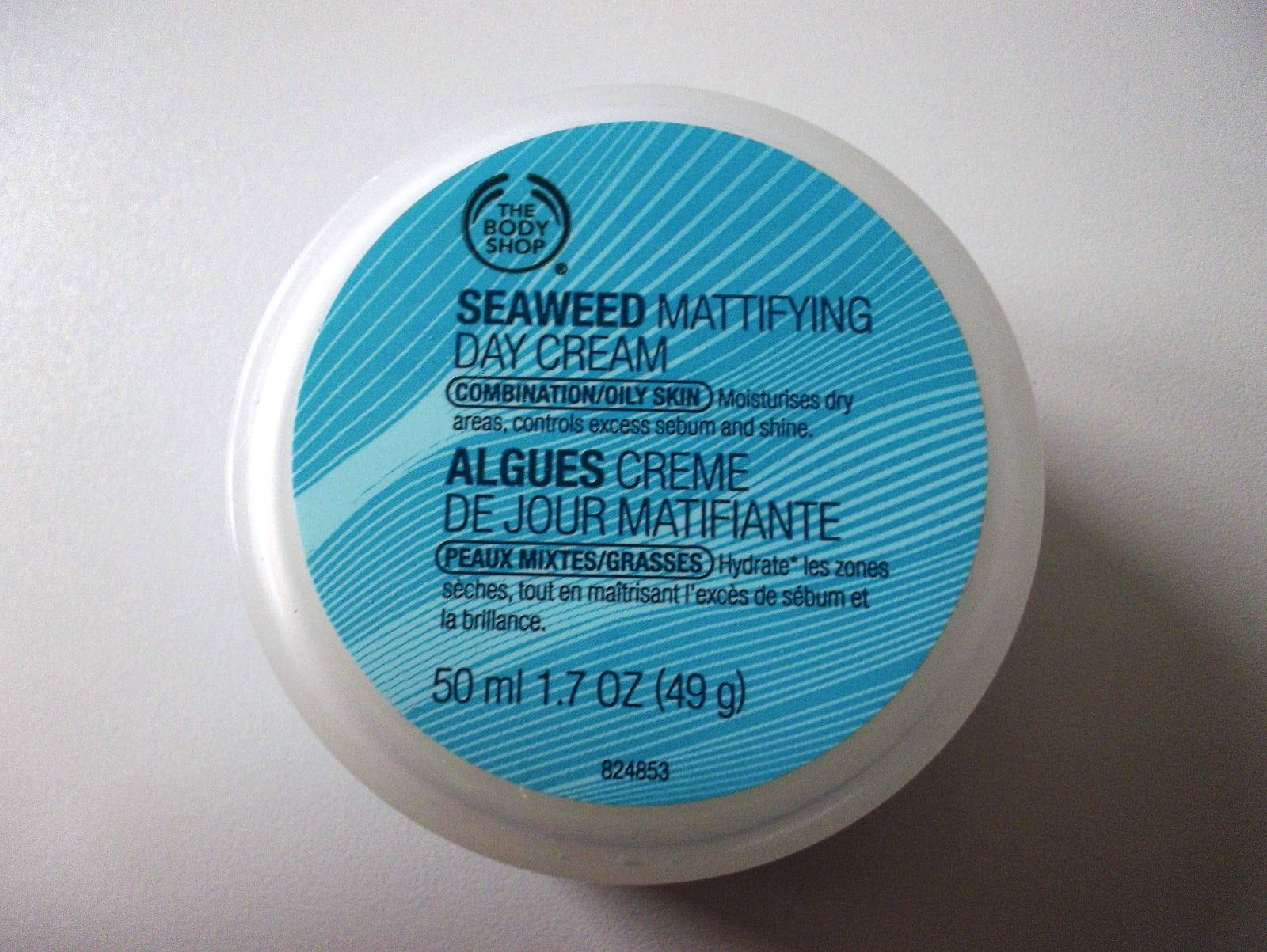 Body Shop Seaweed Day Cream