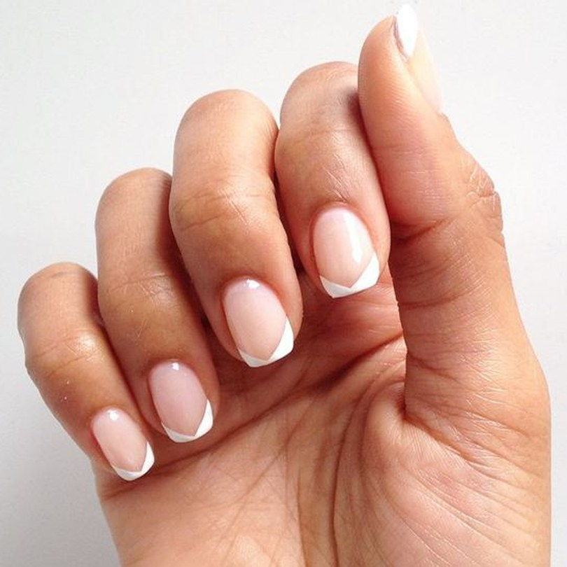 manicure french tips