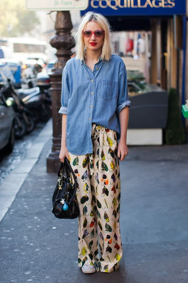 pyjamas bottom style