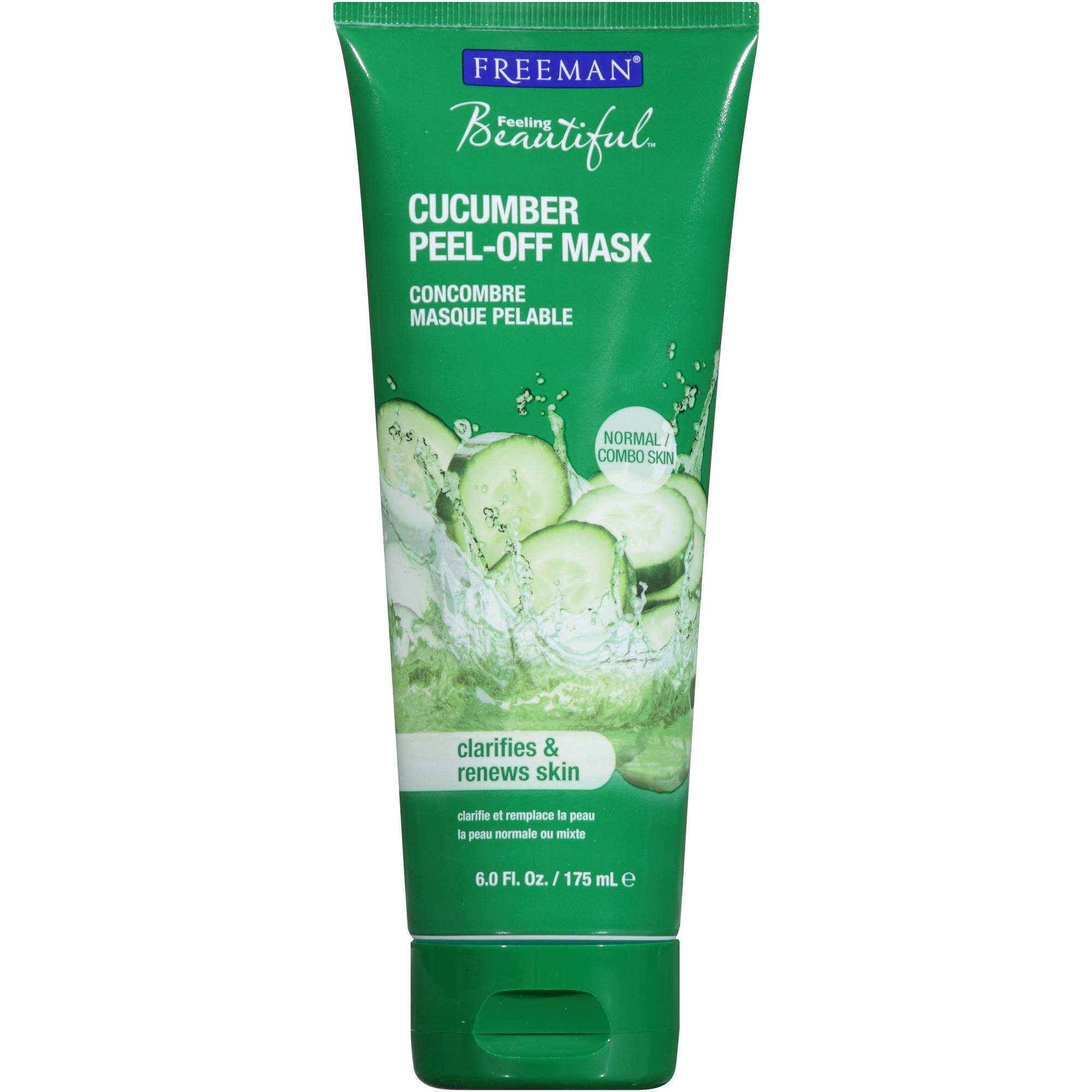 cucumber peel off mask