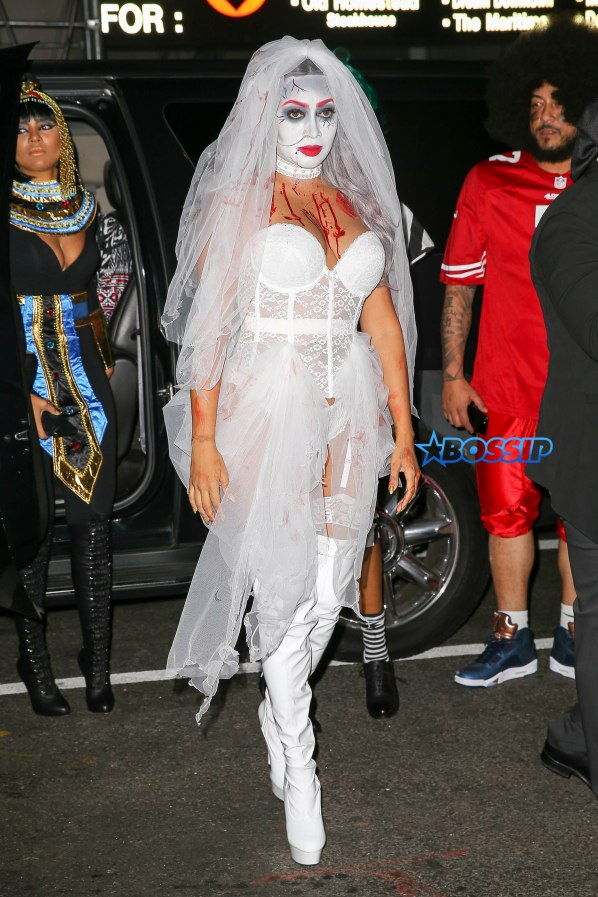 la la Anthony zombie bride