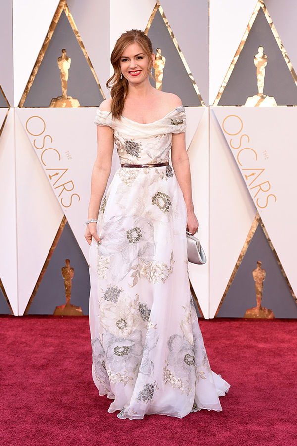 Isla Fisher 2016 oscars