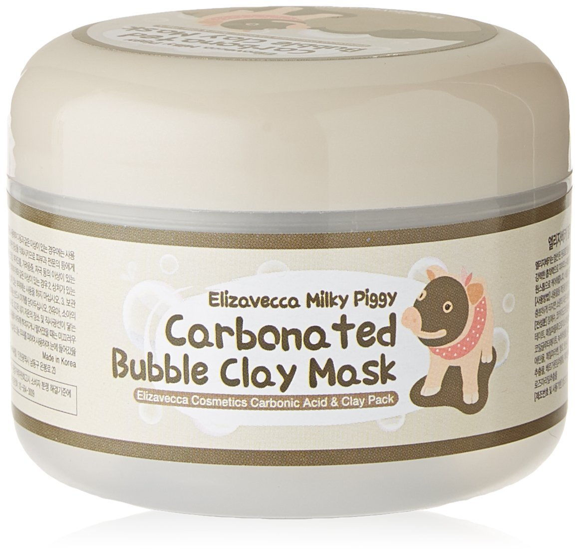 korean bubbles clay mask