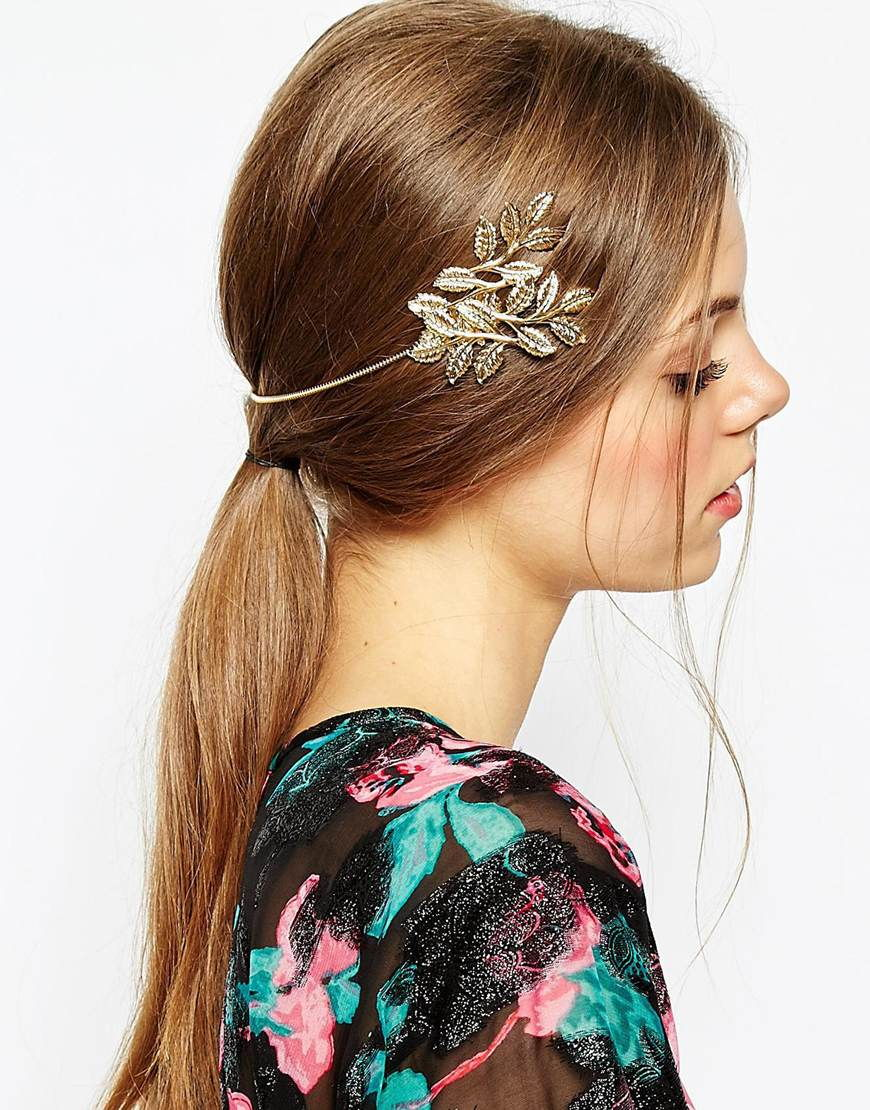 Leaf headband asos