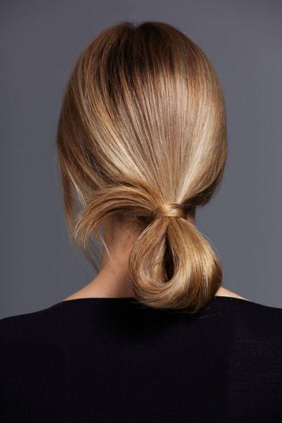 loop hairdo
