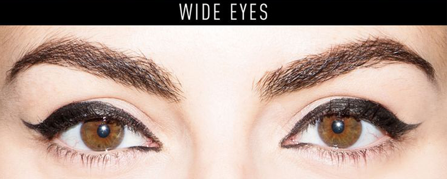 eyeliner for wide set eyes