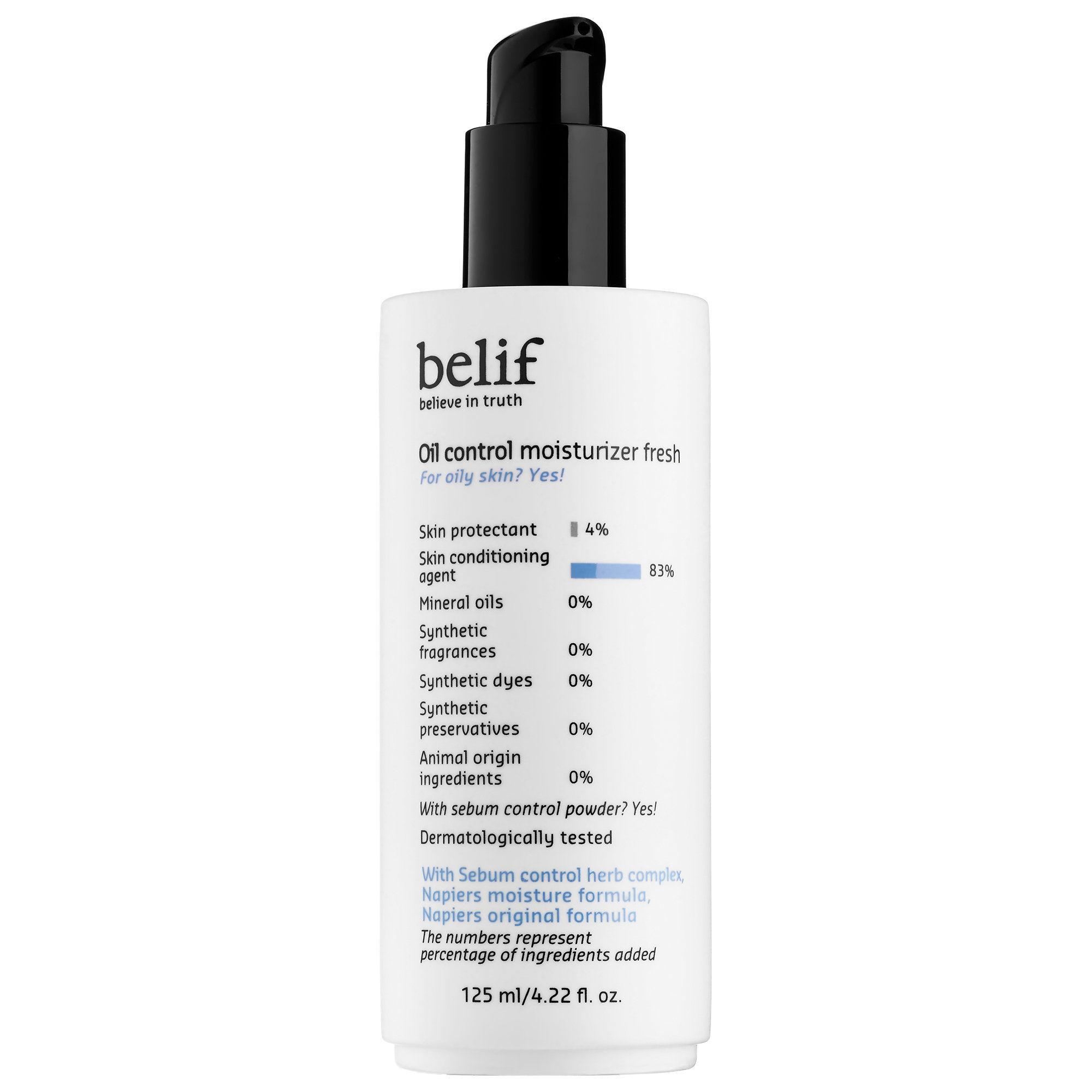 Belif oil control moisturiser