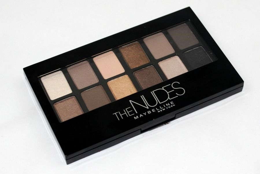 Maybelline the nudes eyeshadow