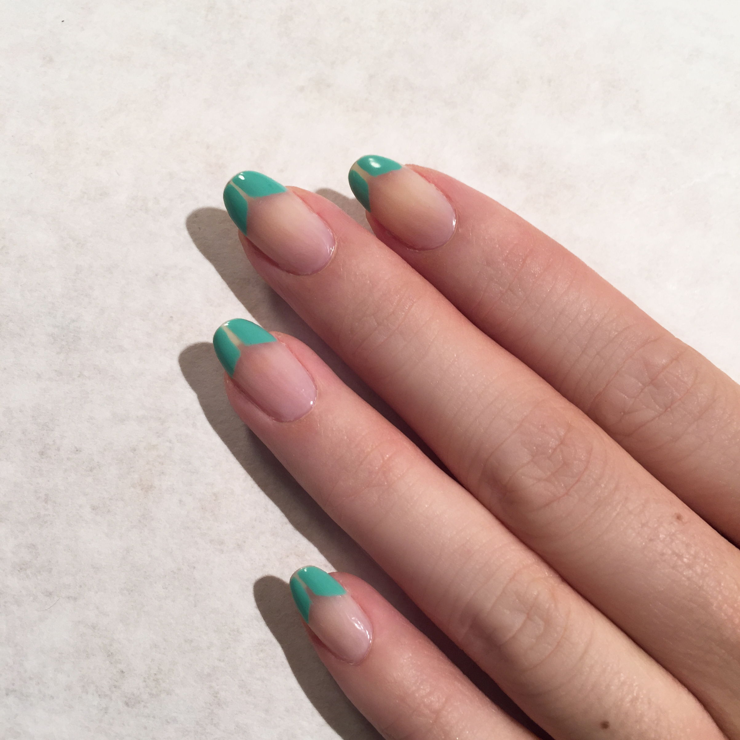 tibi runway nails