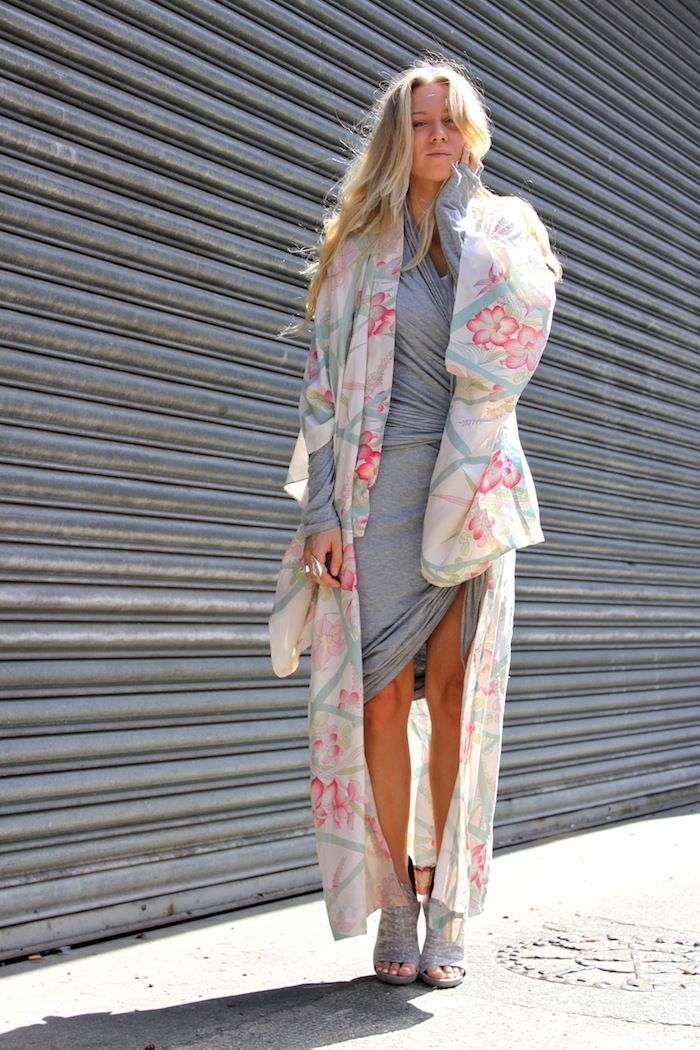 kimono street fashion