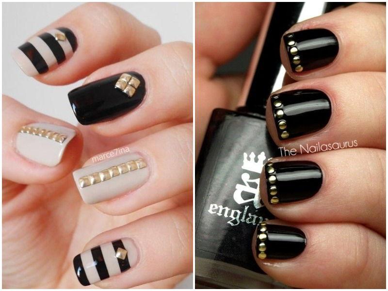 Stud manicure