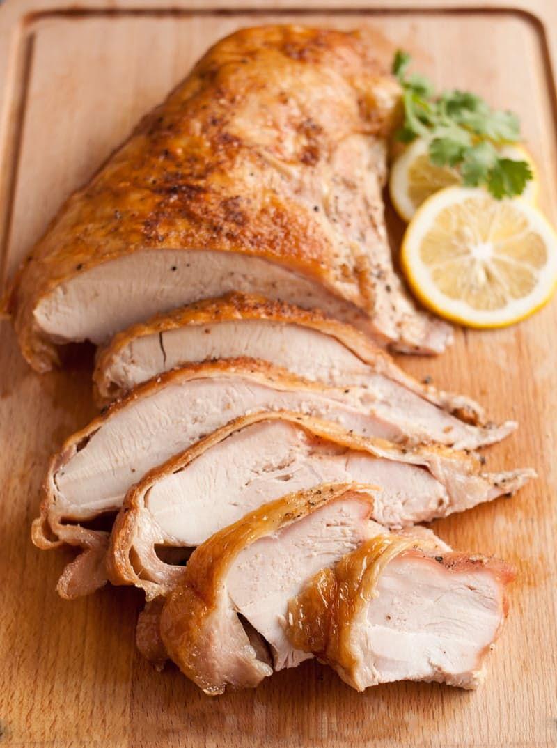 turkey breast slices