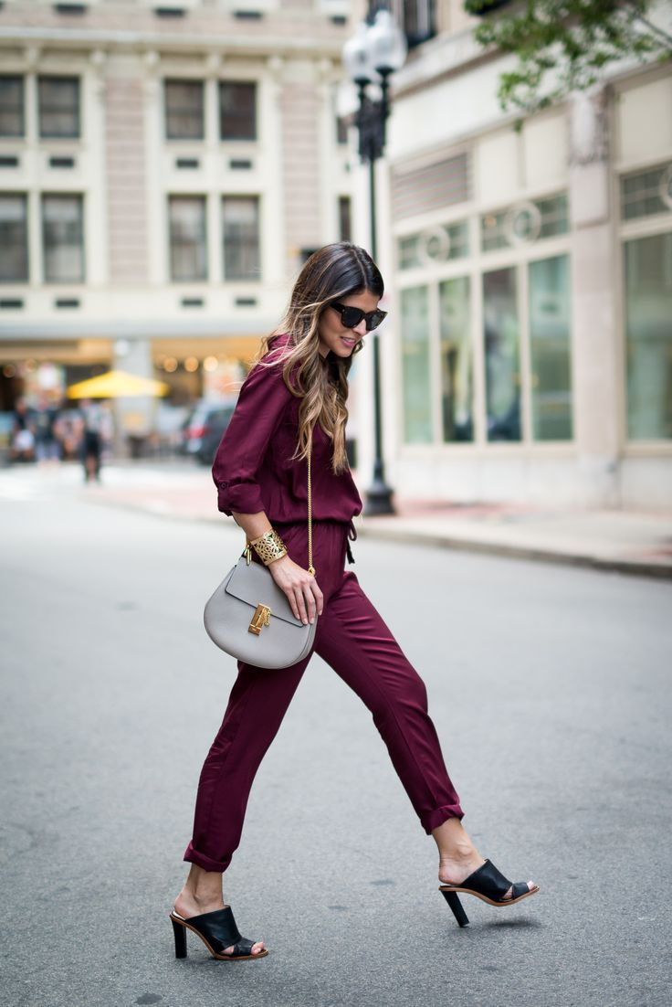 mules with jumpsuit