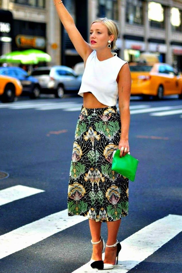 floral culottes outfit