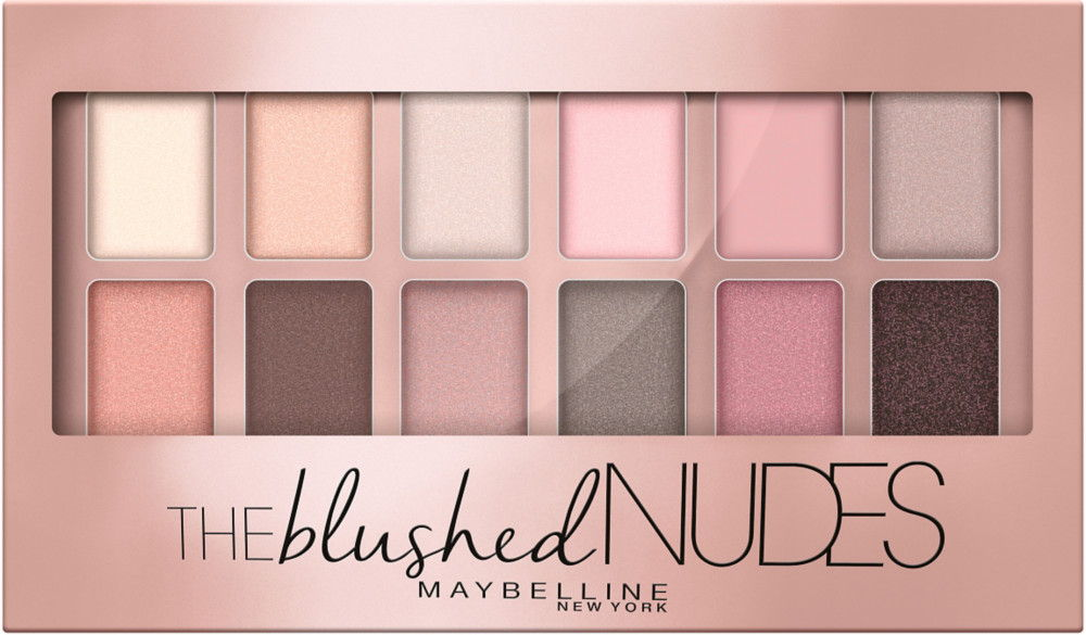 Maybelline's Blushed Nudes