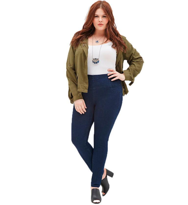 Skinny jeans curvy