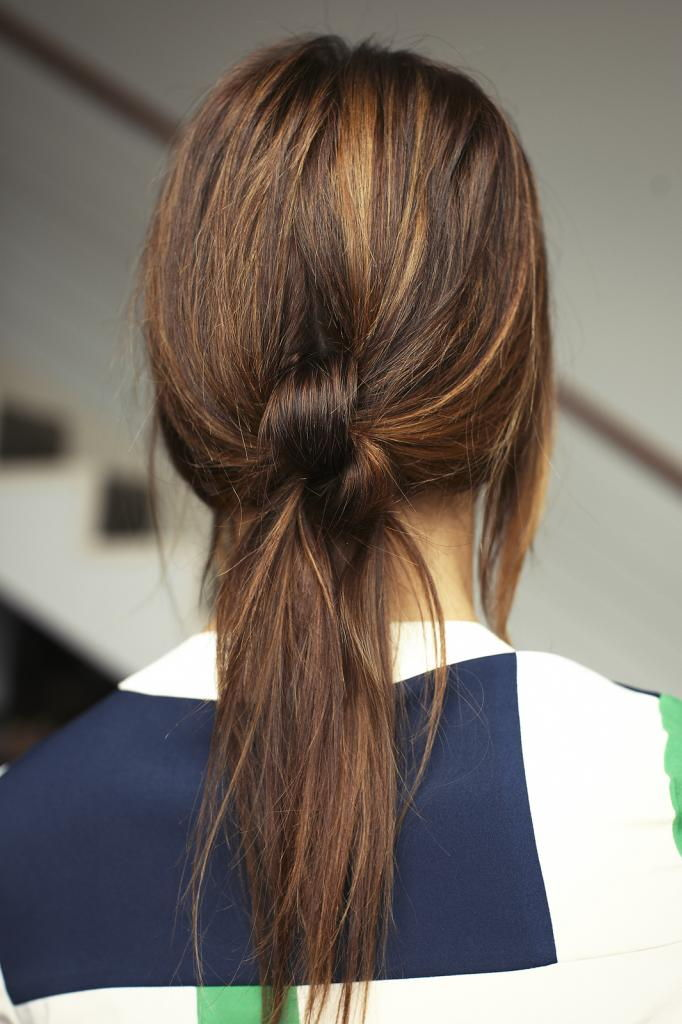 ponytail knots