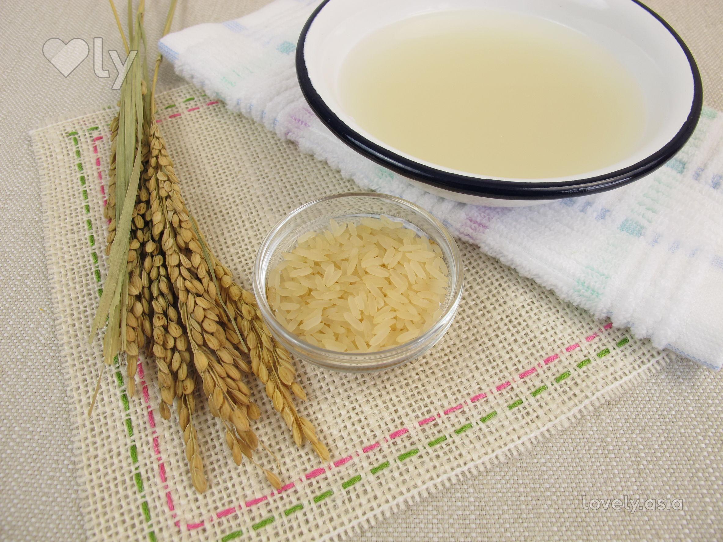 rice water skincare