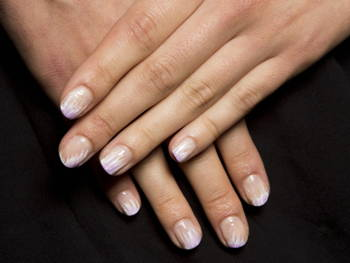 bridal nail ideas you can steal from new york fashion week