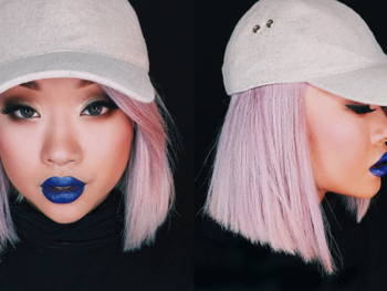 How to Wear Blue Lips and Not Look Sick