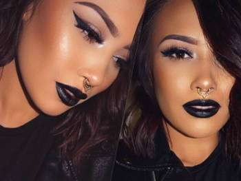 Black Lipstick Is a Thing - Time to Get on the Trend