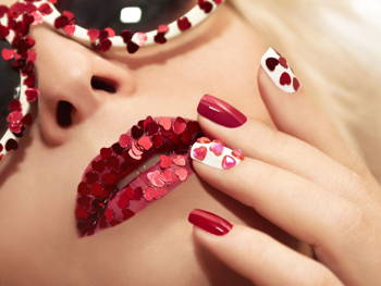 Not Your Mother's Red Manicure