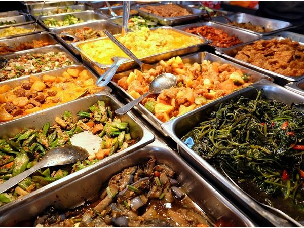 Mixed Economic Rice (Cai bing)
