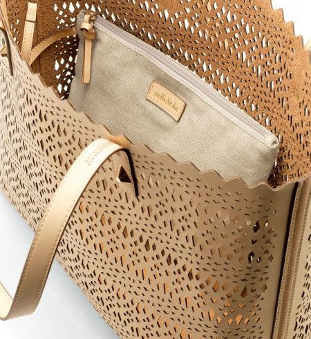 Laser Cut Out Tote