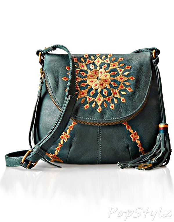 Embroidered Cross Body