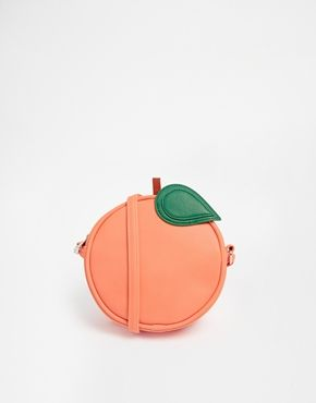 Peach Cross Body