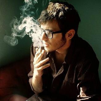 He can\'t smoke