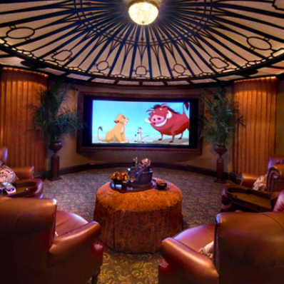 In-house movie theatre