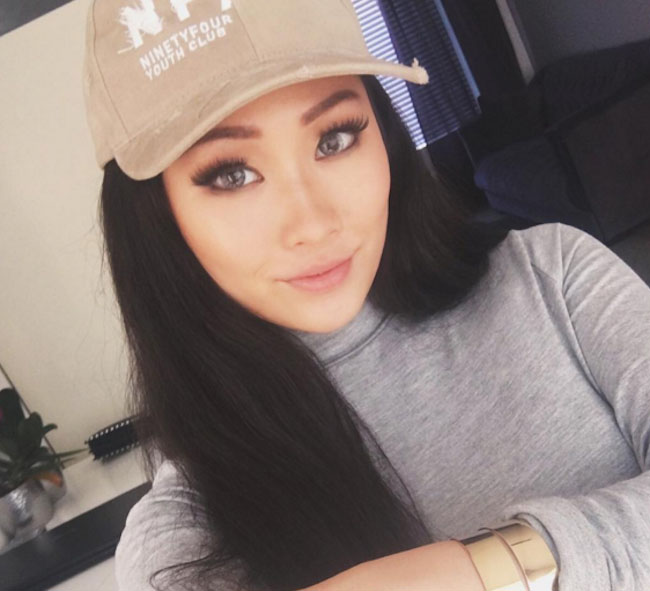 Makeup and beauty Instagram influencer from Singapore, Angeline Zhang