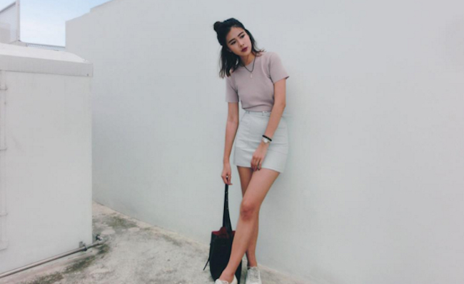 Singaporean Fashion Instagram influencer @CherieZeng