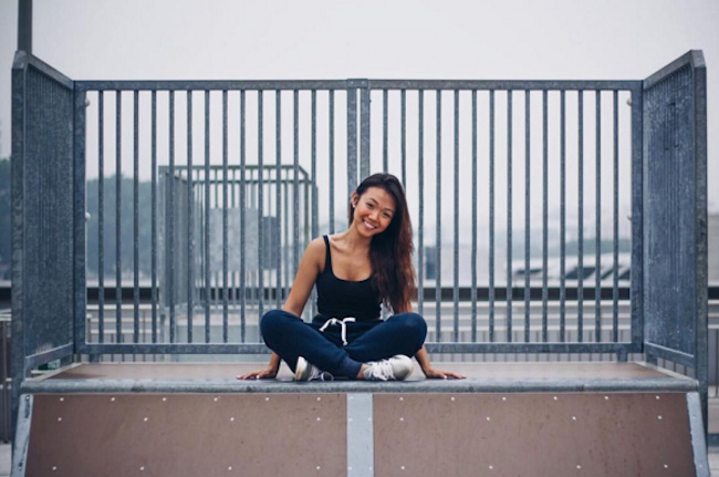 Clarice Yeo is a stylish Singaporean Instagram fitness influencer