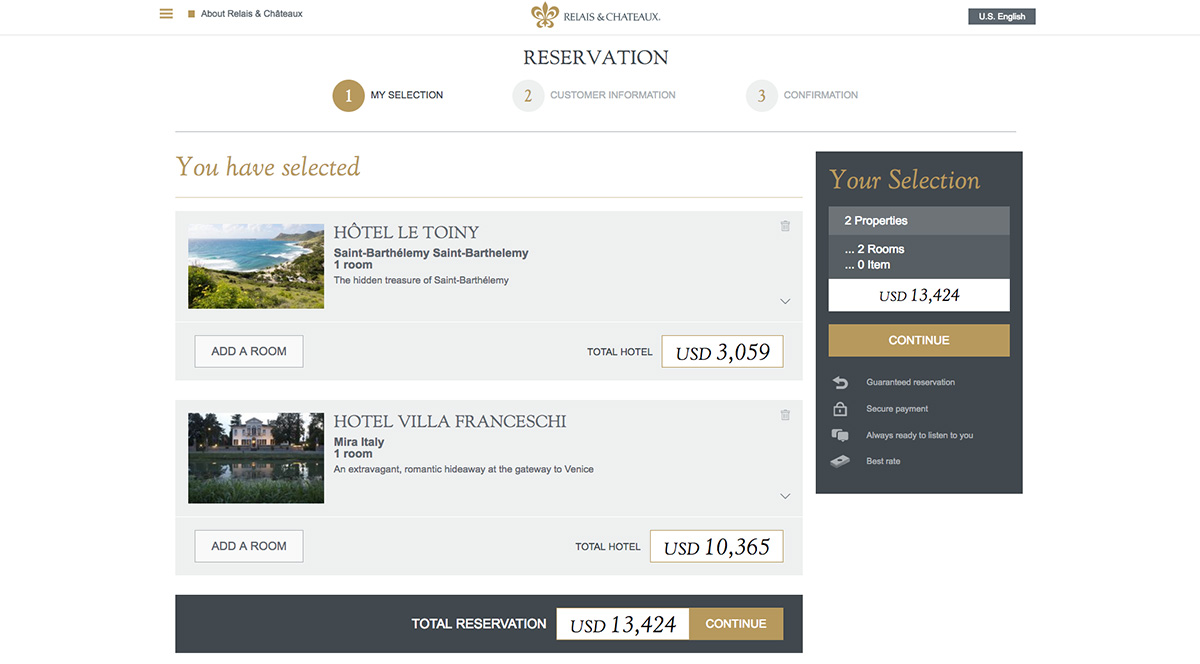 luxe digital luxury hotel online transformation vs ota high end hotels relais chateaux