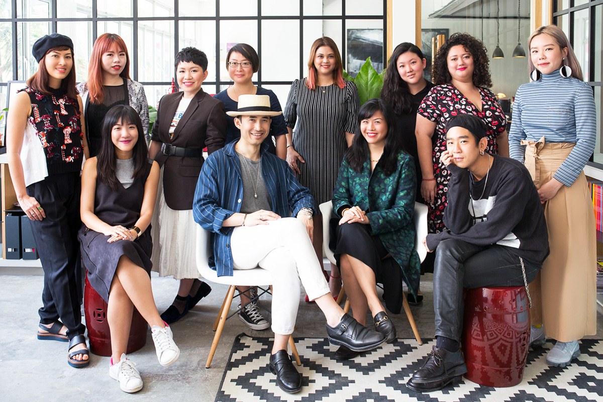 Luxe Digital luxury marketing Buro 24/7 Singapore team office Norman Tan