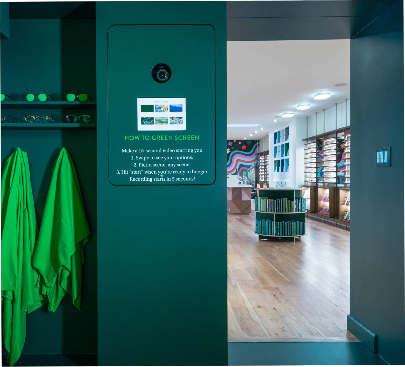 Why digital luxury ecommerce brands open physical stores for Green room retail