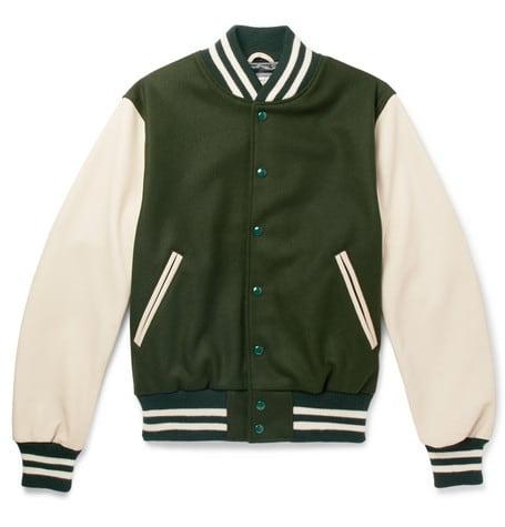 Luxe Digital luxury lifestyle green bomber jacket Golden Bear