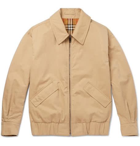 Luxe Digital luxury lifestyle khaki bomber jacket Burberry
