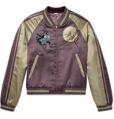 Luxe Digital luxury lifestyle japanese bomber jacket gucci